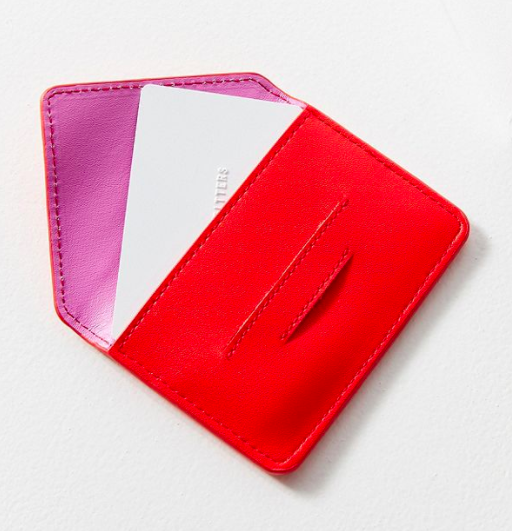UO Mini Envelope Card Case