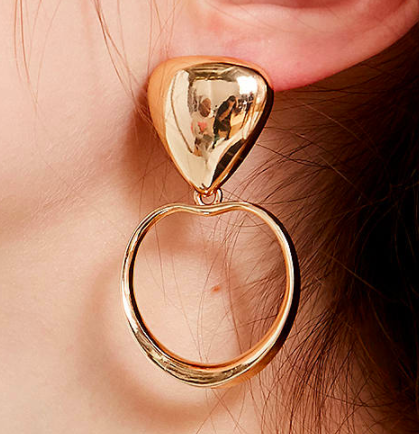 UO Cleo Statement Hoop Earring