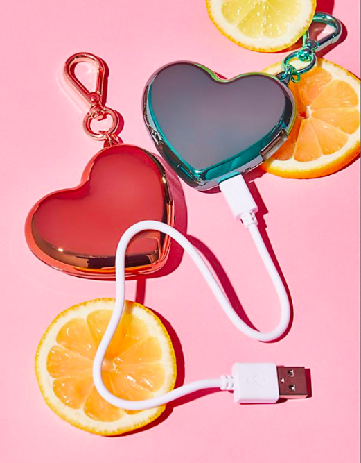FP Heart Charger Keychain