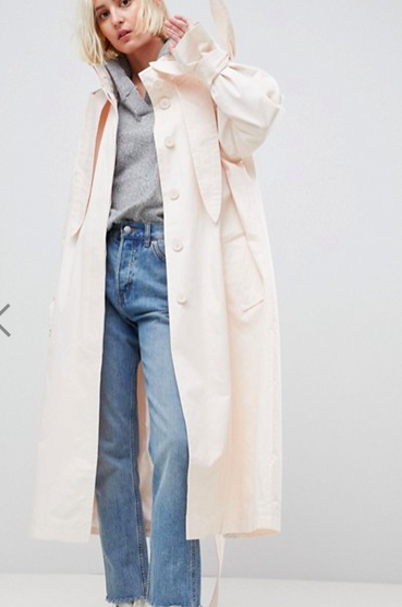 ASOS Hooded Trench