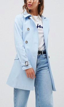 Miss Selfridge Exclusive Belted Trench