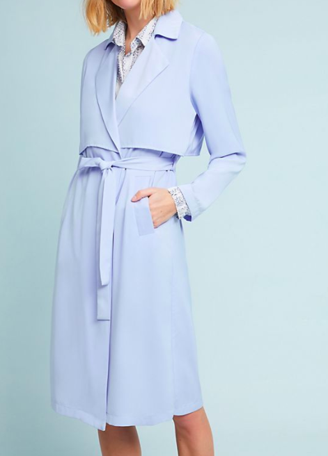 English Factory Waisted Trench Coat