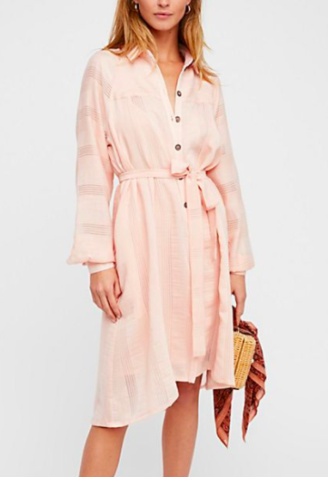 FP Great Escape Shirt Dress