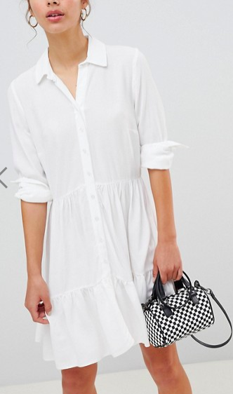 New Look Frill Shirt Dress
