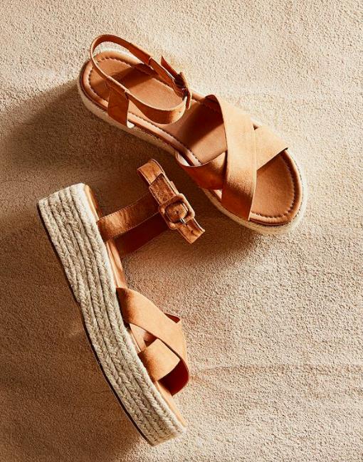 Cora Flatform Espadrille Sandal