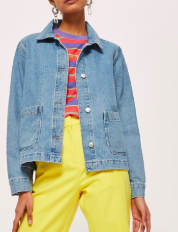Topshop Denim Shacket