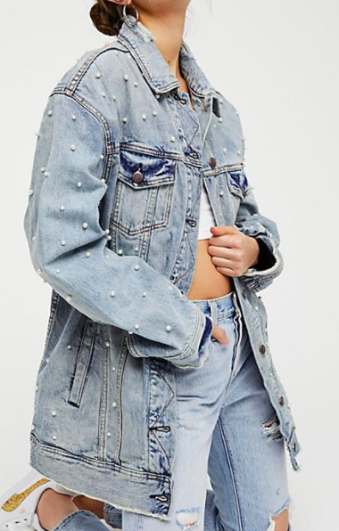 FP Lazy Sunday Denim Jacket
