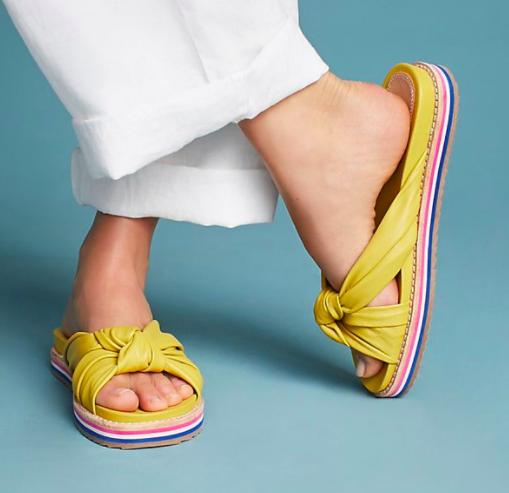 Bill Blass Padget Knot Sandal Slides