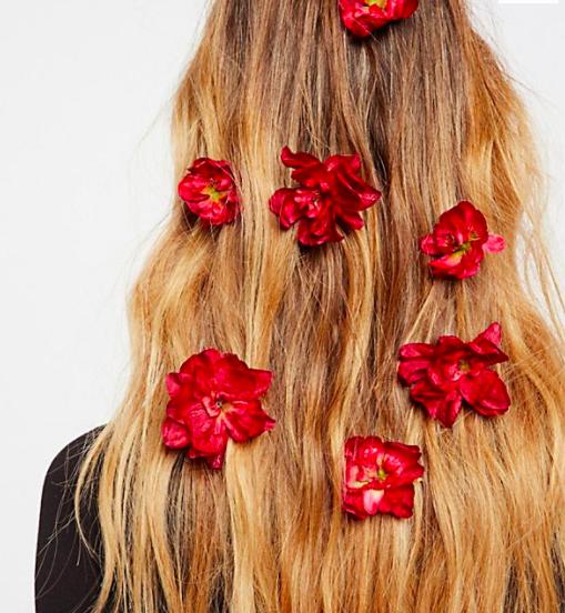 FP Franny Flower Hair Pins