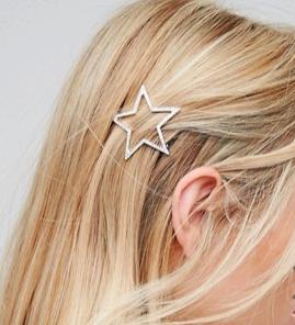 Orelia Open Star Hair Clip