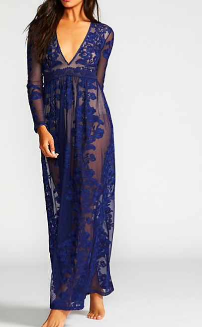 LOVE AND LEMONS Temecula Maxi Dress