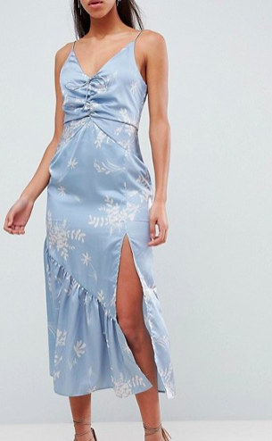 Finders Floral Cami Midi Dress