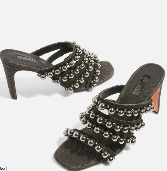Topshop Strappy Mules