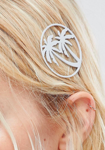 ASOS Palm Tree Hair Clip