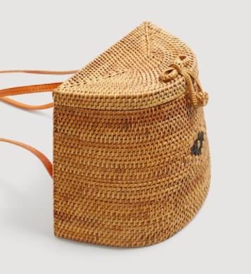 Mango Bamboo handmade backpack