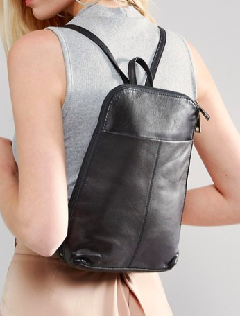 ASOS Mini Leather Backpack
