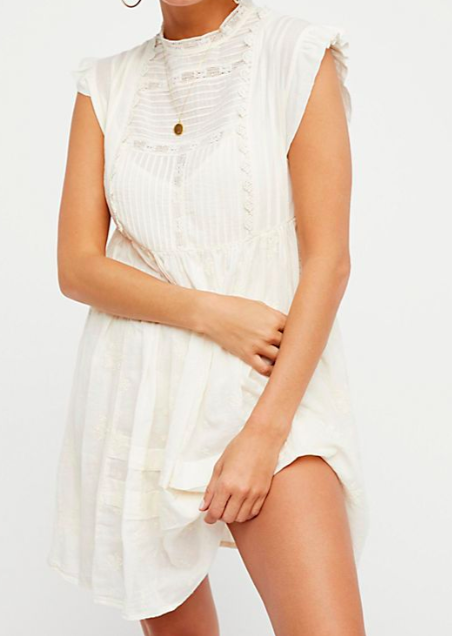 Nobody Like You Embroidered Mini Dress