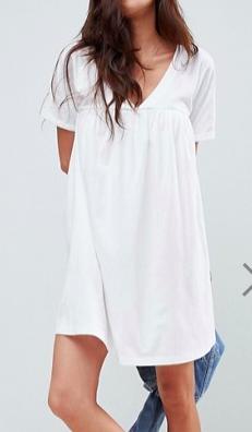 ASOS DESIGN ultimate cotton smock dress