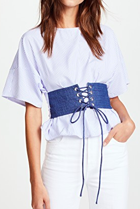 re:named Corset Blouse