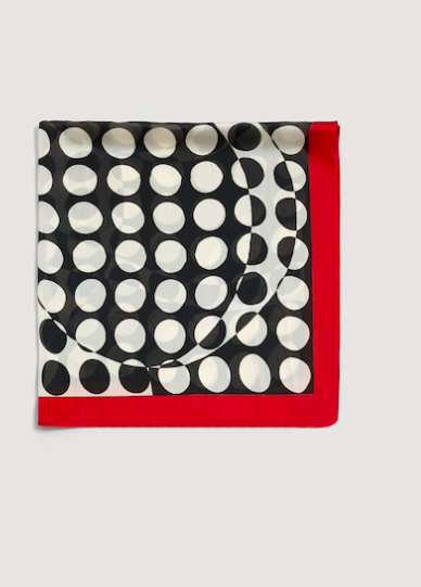 Mango Polka-dot print scarf