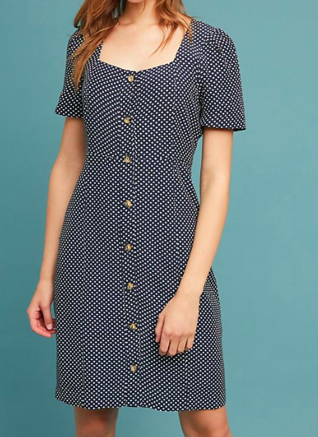 Maeve Cecile Polka Dot Dress