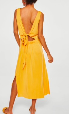 Mango Bow gown