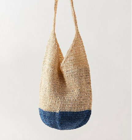 UO Slouchy Straw Tote Bag