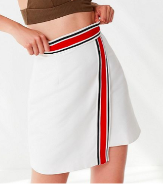 C/meo Collective Totality Striped Skirt