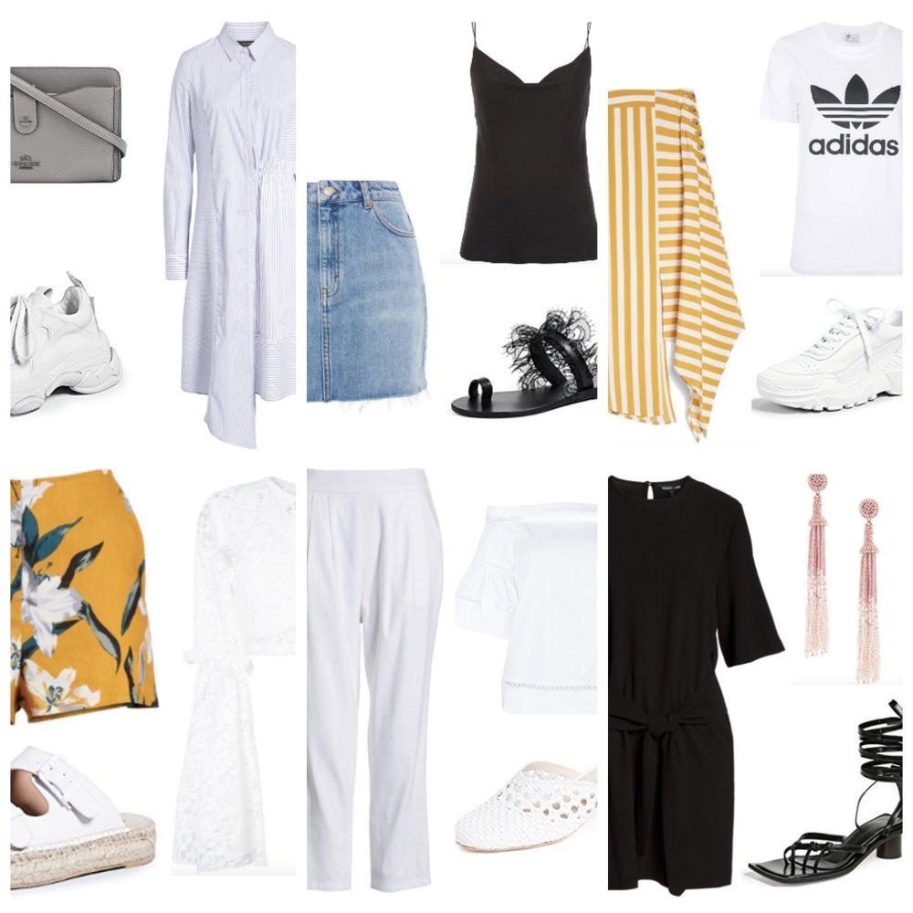 Three Piece Summer Outfits 2018 | TrufflesandTrends.com