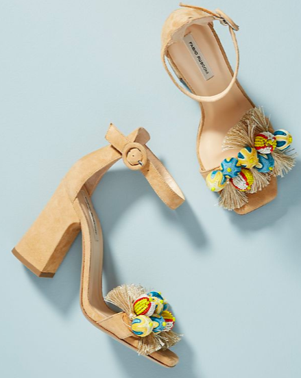 Fabio Rusconi Embellished Heeled Sandals