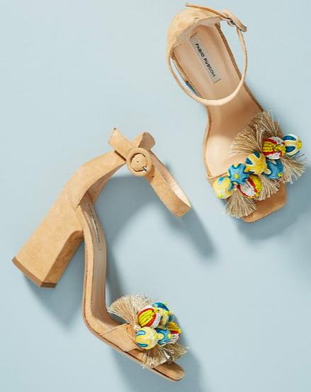 Fabio Rusconi Embellished Heeled Sandals