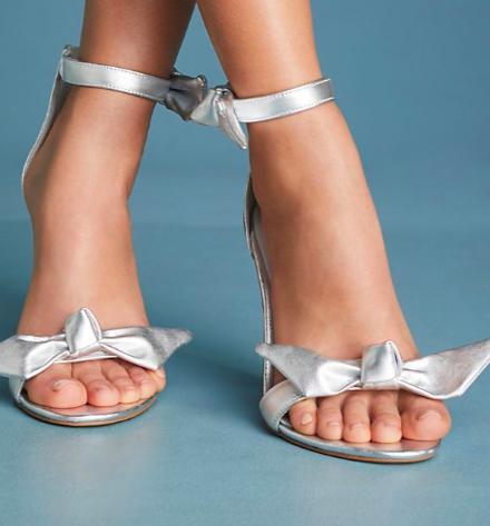 Jeffrey Campbell Minari Bow Heeled Sandals