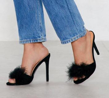 Slip Into Something Feather Heel