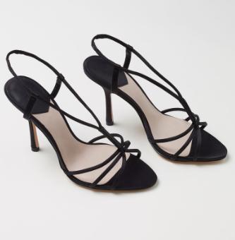 HM Satin Sandals
