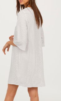 HM Trumpet-sleeve Dress