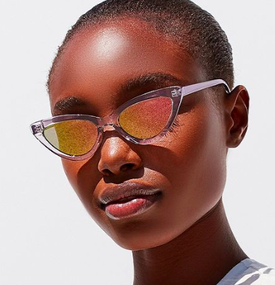 UO Wild Child Cat-Eye Sunglasses