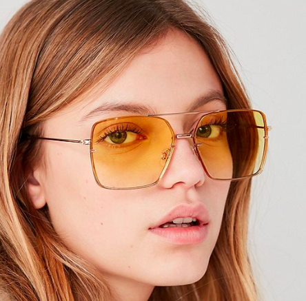 UO Boogie Down Aviator Sunglasses