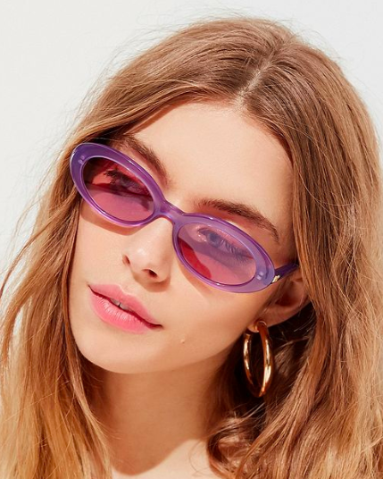 UO Crap Eyewear The Sweet Leaf Sunglasses