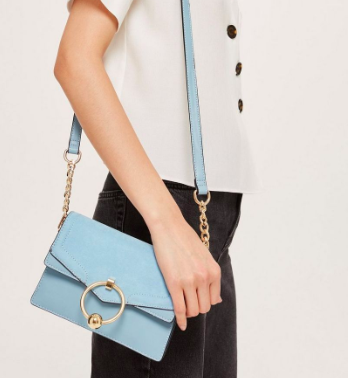 Topshop Chain Cross Body Bag
