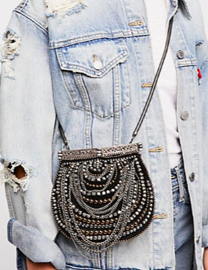 FP Diamonte Embellished Crossbody