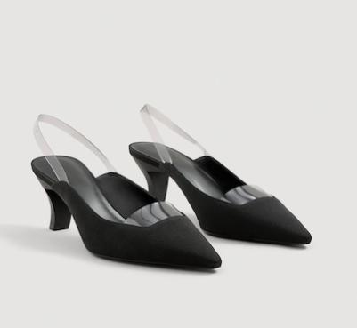 Mango Vinyl detail shoes
