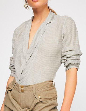 FP Star Stripe Wrap Top