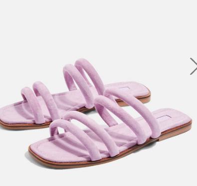 Topshop Flat Tubular Sandals