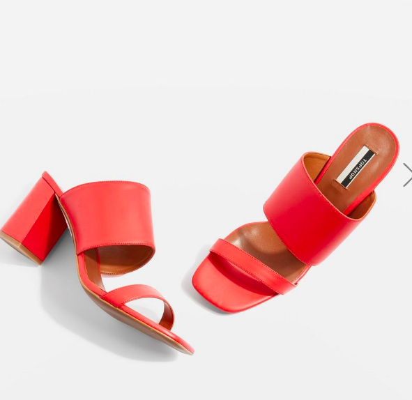Topshop Nickle Mules