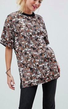 Monki Jungle Print Oversized T-Shirt