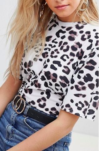 PrettyLittleThing Leopard Print T-Shirt