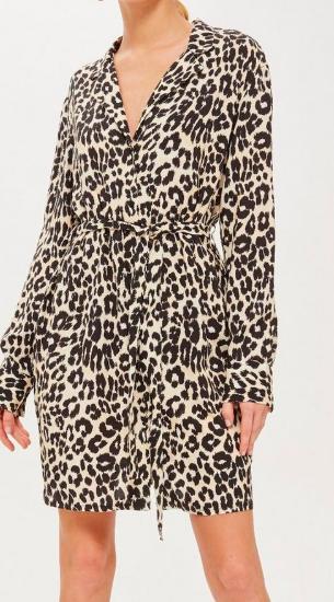 Animal PJ Shirt Dress