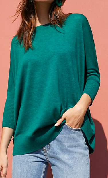 Anthropologie Wilhelmina Pullover