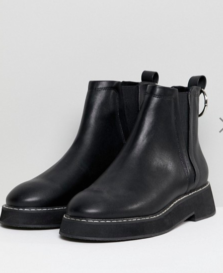 ASOS DESIGN Aria Chunky Chelsea Ankle Boots