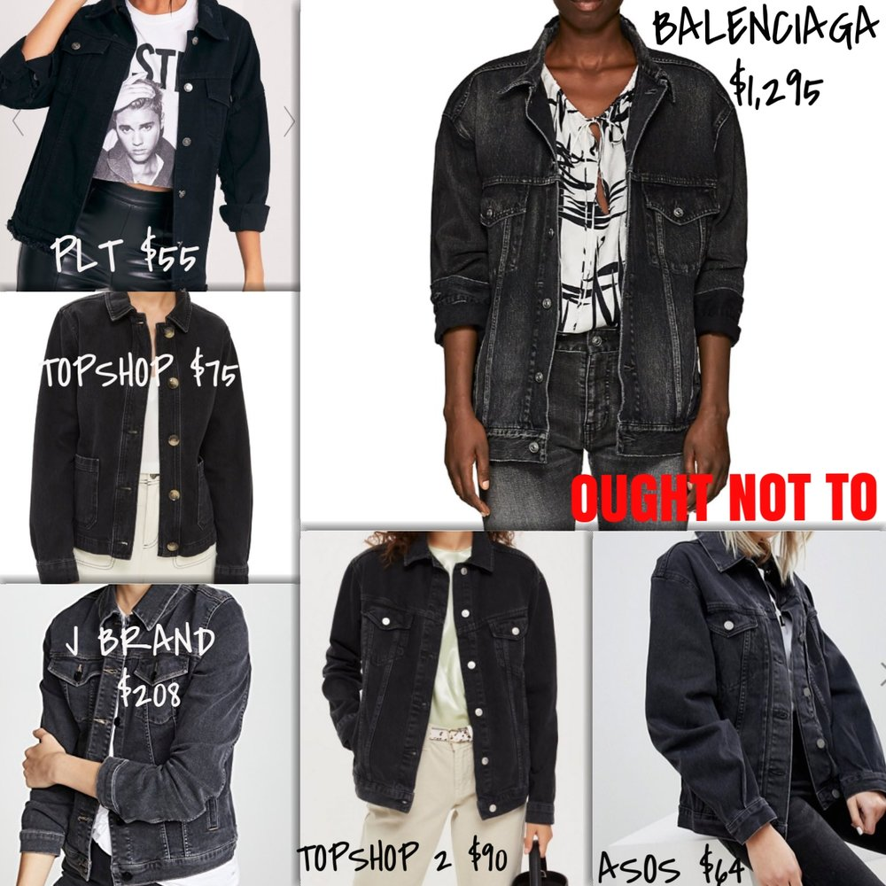 Ought Not To, Ought To: Denim Jackets | TrufflesandTrends.com